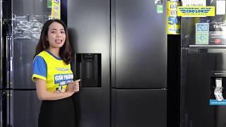 Đánh giá Tủ Lạnh SAMSUNG Inverter 650 Lít RS65R5691B4/SV