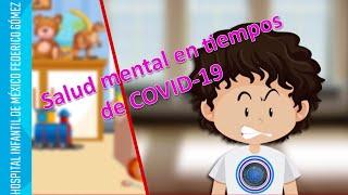 Salud mental en niños y adolescentes ante el COVID-19
