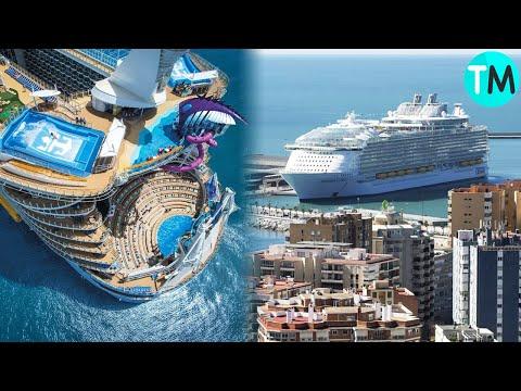 Los 10 Cruceros Ms Grandes E Impresionantes Del Mundo.