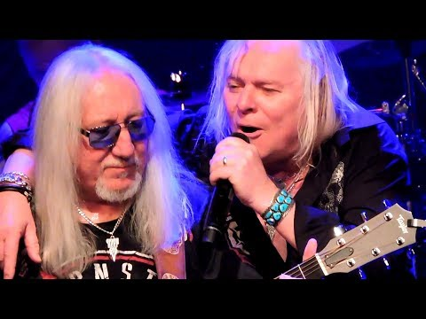Uriah Heep Magician's Birthday, The Wizard, July Morning Live 2018