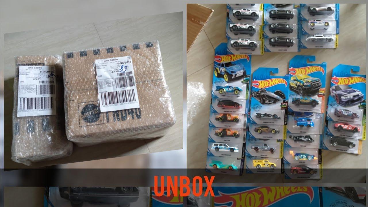 Unbox hotwheels from Lazada   sale sa lazada