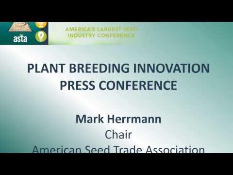 ASTA Plant Breeding Press Conference
