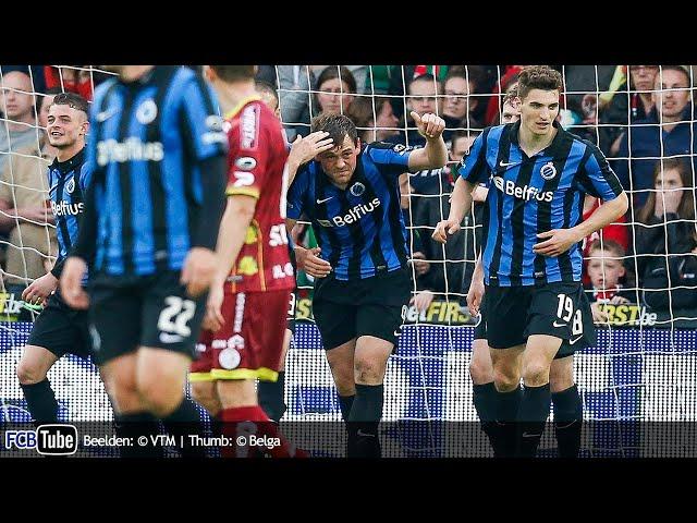 2013-2014 - Jupiler Pro League - PlayOff 1 - 03. Zulte Waregem - Club Brugge 2-1