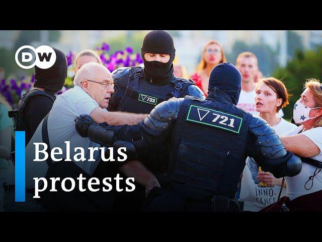 Belarus opposition candidate Tikhanovskaya flees to Lithuania | DW News