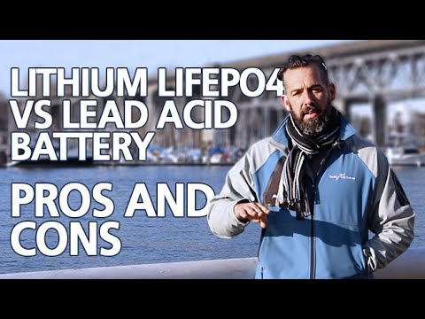 Power Time with Jeff Cote - Lithium LiFePO4 vs Lead Acid Battery, Pros and Cons, Part 1