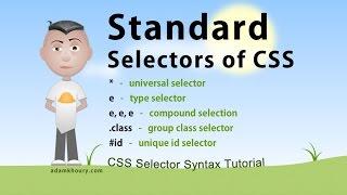 CSS Standard Selectors