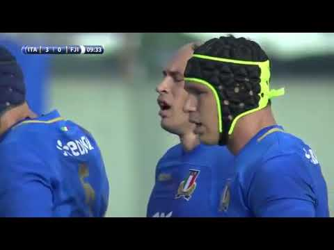 Fiji v Italy 2017 Autumn International - Ropate Rinekama debut