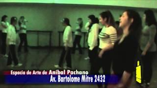 Espacio de Arte de Aníbal Pachano clases de Hip-Hop con Ayumi Miyashiki- El Avance ZO 23/08/13