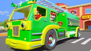 Wheels on the Fire Truck & Nursery Rhymes for Kids by Little Treehouse