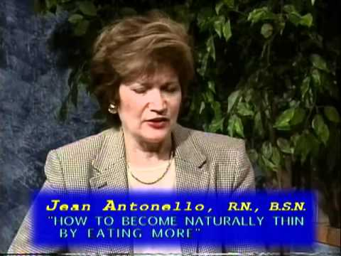 Jean Antonello (2-2) HOW TO BECOME NATURALLY THIN -- authors writers interviews