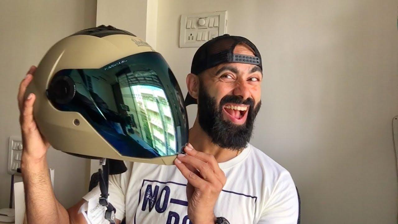 efd19d55 Steelbird Helmets   SBA   Unboxing - YouTube