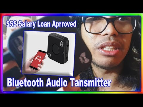 SSS Salary Loan Approved + Unboxing My Bluetooth Audio Tansmitter From Lazada.  | I💖TANSYONG TV