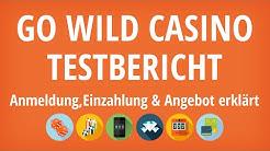 Go Wild Casino Testbericht: Anmeldung & Einzahlung erklärt [4K]
