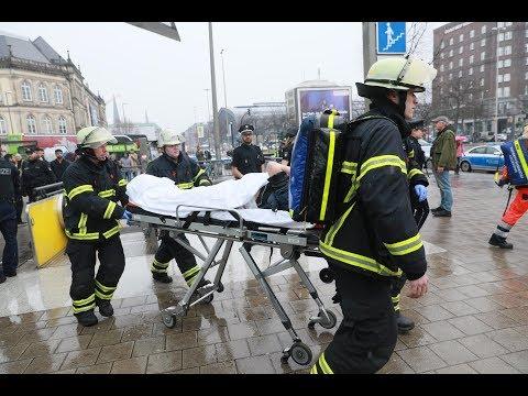 Wieder eine Messer-Attacke in Hamburg: Mann nach Streit am ZOB niedergestochen