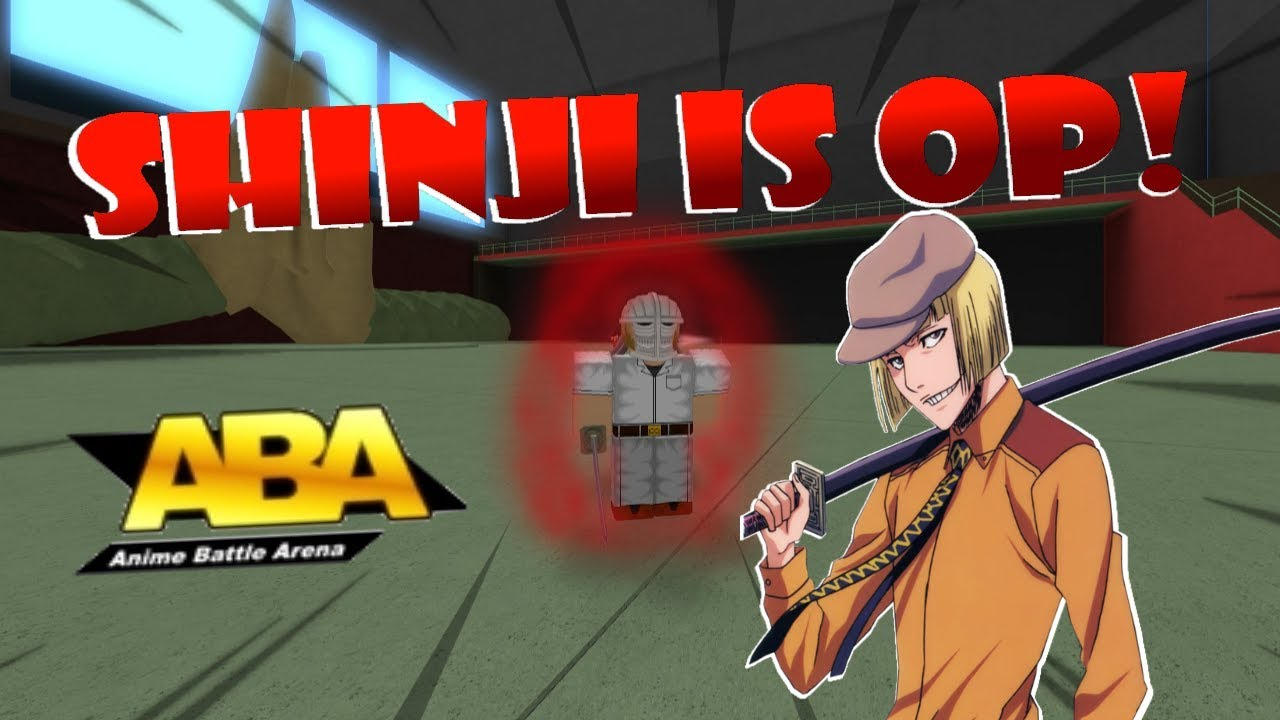Shinji Is Op Roblox Anime Battle Arena Youtube