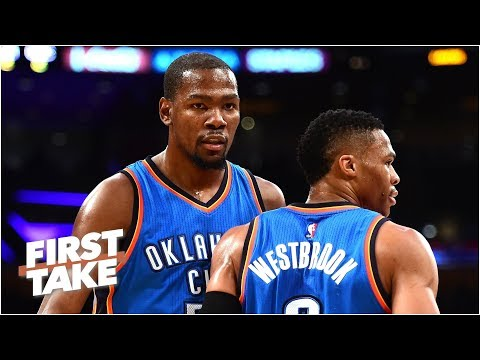 Kevin Durant told Thunder he wasn't leaving before joining Warriors - Stephen A.   First Take