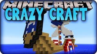 Minecraft Mods - CRAZY CRAFT 2.0 - Ep # 141 'HOUR SPECIAL SUPERHERO BOATS!' ( Orespawn Mod)