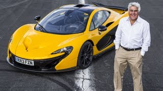 Jay Leno becomes first man outside McLaren to drive the P1