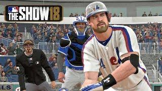 MLB The Show 18 - Matt Myer Road To The Show Washington Nationals Catcher EP 8 MLB 18 RTTS