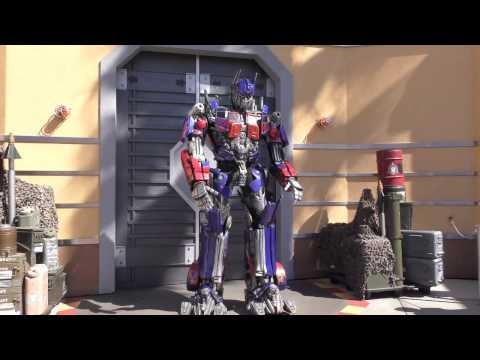 4k Ultra HD Optimus Prime Picture Opportunity Intoduction Universal Studios Hollywood