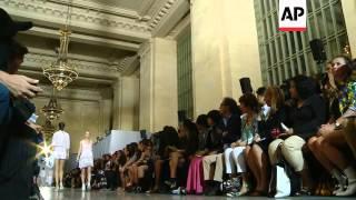 Kanye West attends Diesel Black Gold fashion show