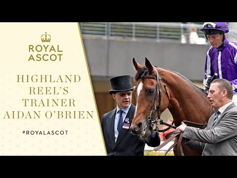 Royal Ascot 2017 | Highland Reel's trainer Aidan O'Brien on Prince of Wales's Stakes
