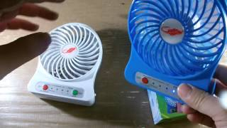 Product Reviews: High Quality Rechargeable Mini Fan with Flash Light