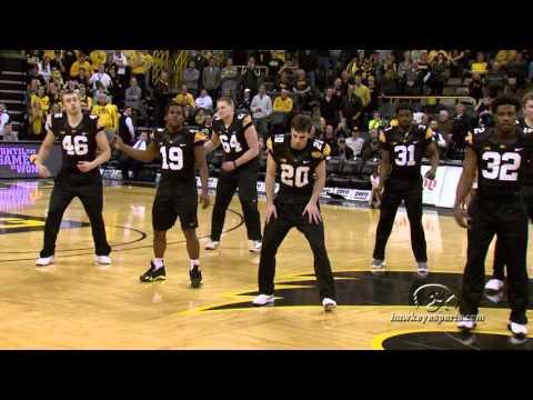 Iowa Dance Team Halftime Performance February 3rd, 2016