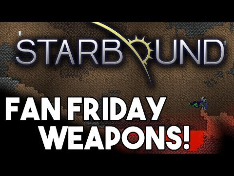 Starbound Custom Creations: Fan Friday!