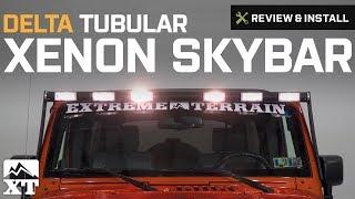 Download Video Jeep Wrangler Delta Tubular Xenon SkyBar (2007-2017 JK) Review & Install MP3 3GP MP4