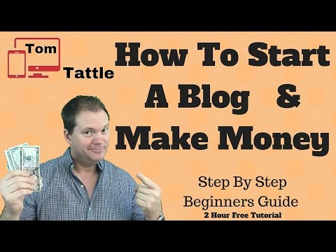How To Start A Blog And Make Money 2016