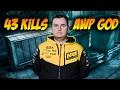 CS:GO | GuardiaN - 43 kills on train @ FACEIT