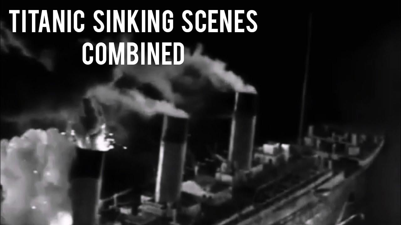 Download Titanic Sinking Scenes ( 1953 - 1958 - Deleted Scenes of Raise the Titanic - 1997 Combined )