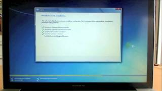 How to install Windows 7 with Bootcamp Drivers on a Mac (German/English subtitle)