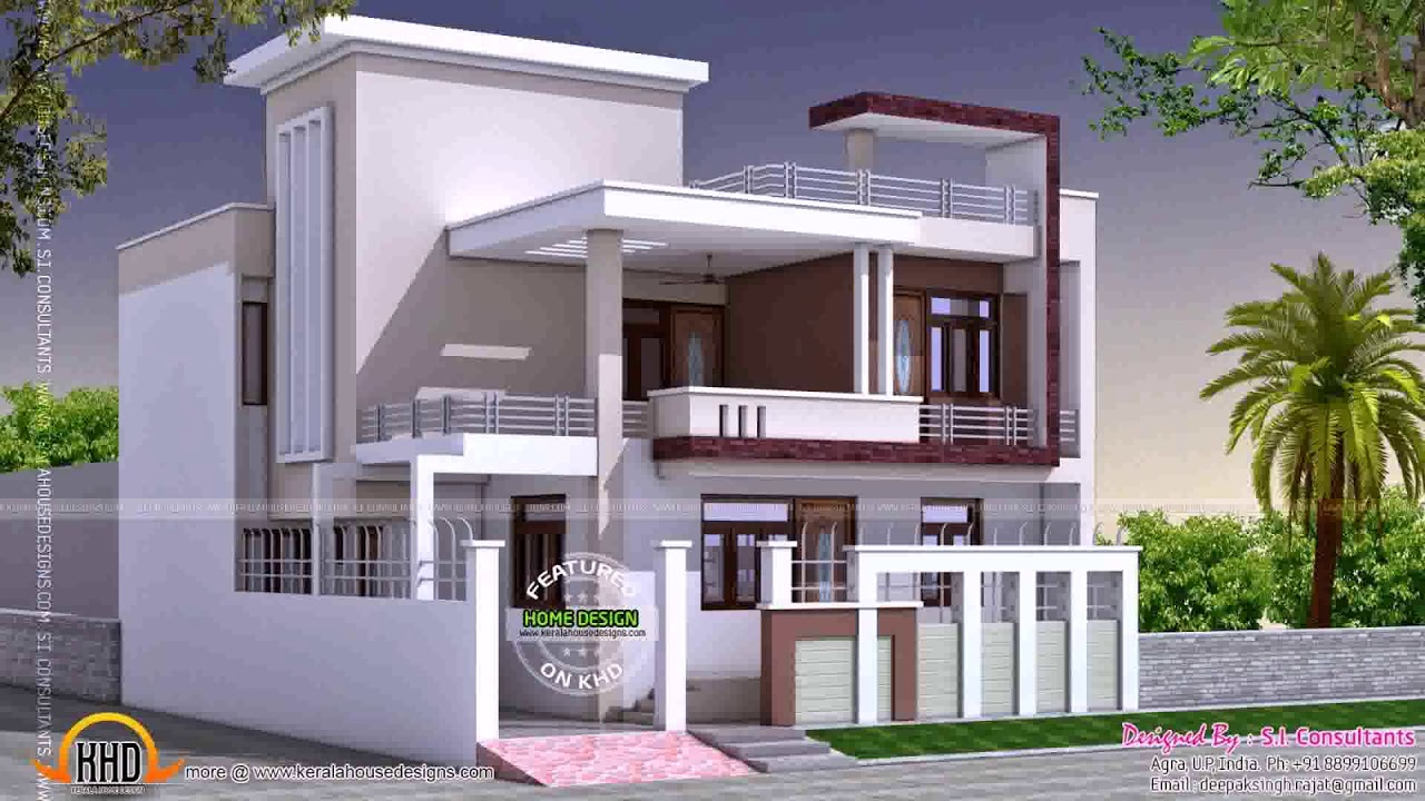 30x60 house plans in india youtube for Best house designs indian style