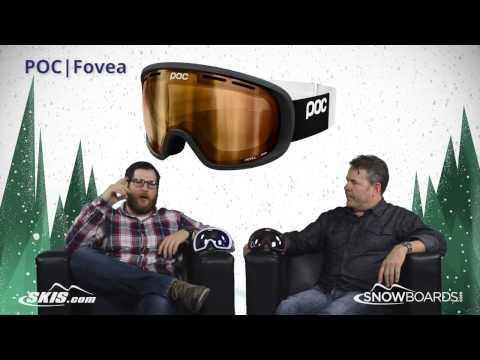 2016 POC Fovea Goggle Overview by SkisDotCom and SnowboardsDotCom