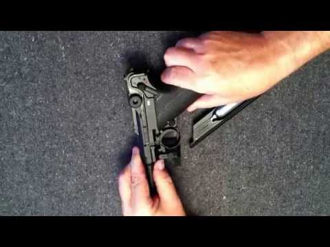 Legends P08 CO2 BB gun - how to reassemble
