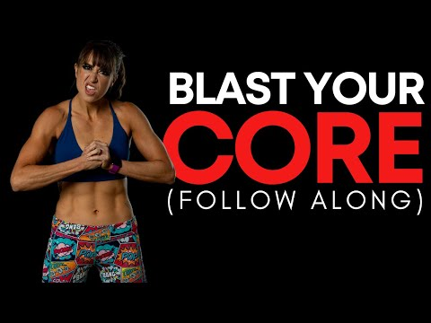 Strengthen Your CORE In 5 Minutes (FOLLOW ALONG!)