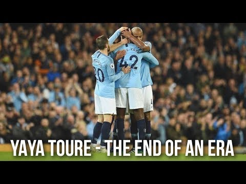 YAYA TOURE'S LAST MAN CITY GAME | THE END OF AN ERA