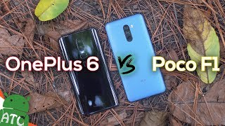 Pocophone F1 vs Oneplus 6 battle!