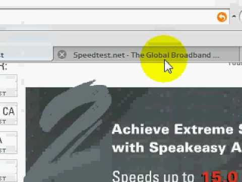 4 Speed Test Sites , ALL DIFFERENT Results
