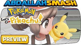 FIRST LOOK at Pokemon Let's GO Pikachu & Pokeball Plus on Nintendo Switch!