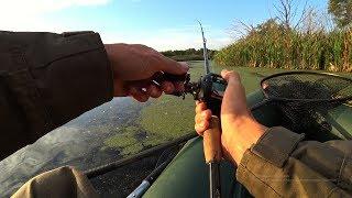 Что Она Делает?! Рыбалка осенью на спиннинг. Ловля щуки.