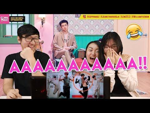 ̰�열 (CHANYEOL) X ̄�훈 (SEHUN) 'We Young' MV Reaction [CHANHUN OMGGGGGGGG]