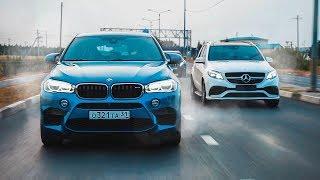 Парень на ТУРБО ПРИОРЕ против КРУТЫХ BMW Х6М и MERCEDES GLE AMG 63