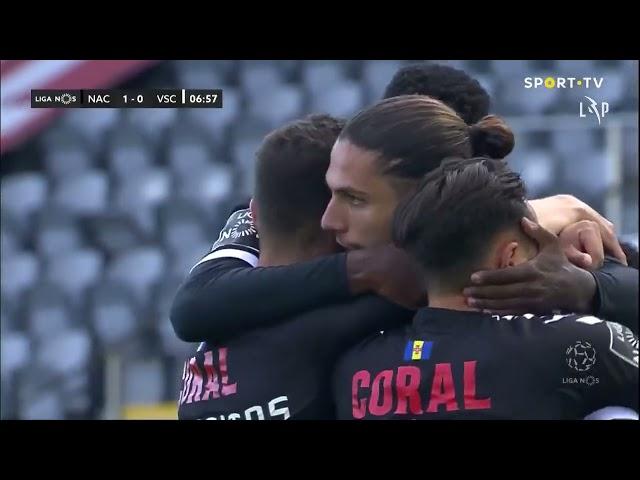 Goal | Golo Pedro Mendes: CD Nacional (1)-0 Vitória SC (Liga 20/21 #29)