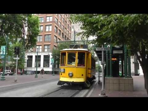 Vintage Trolleys - Trams - Memphis - Daytime