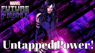 Psylocke goes all out against Ebony 98! Marvel Future Fight