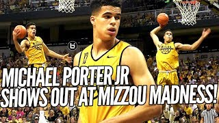 Michael Porter Jr DOMINATES 2017 Nike Hoop Summit! Full Highlights