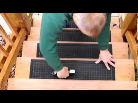 Installation Video   Rubber Master Stair Treads
